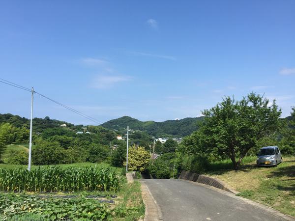心まできれいになりそうな山々の眺望。