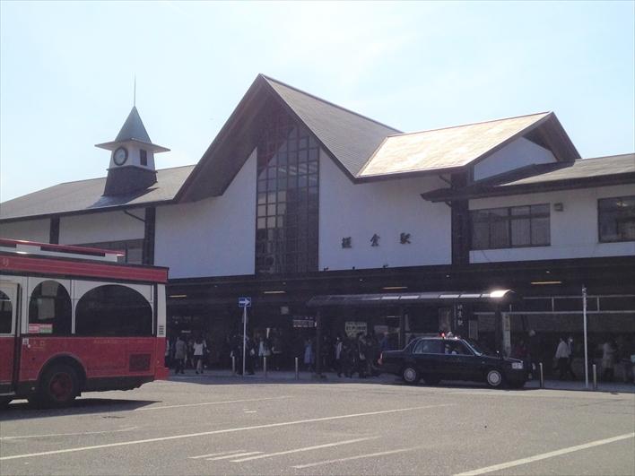 鎌倉駅 メインの出口・東口から徒歩2分!