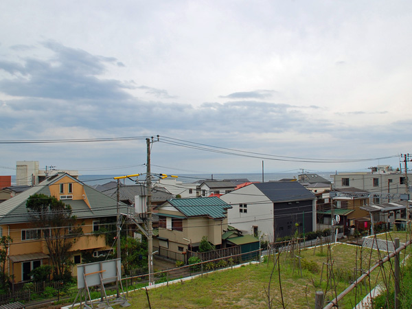 敷地からの海眺望