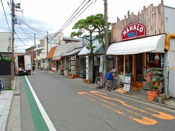 お買い物は稲村ヶ崎駅周辺で
