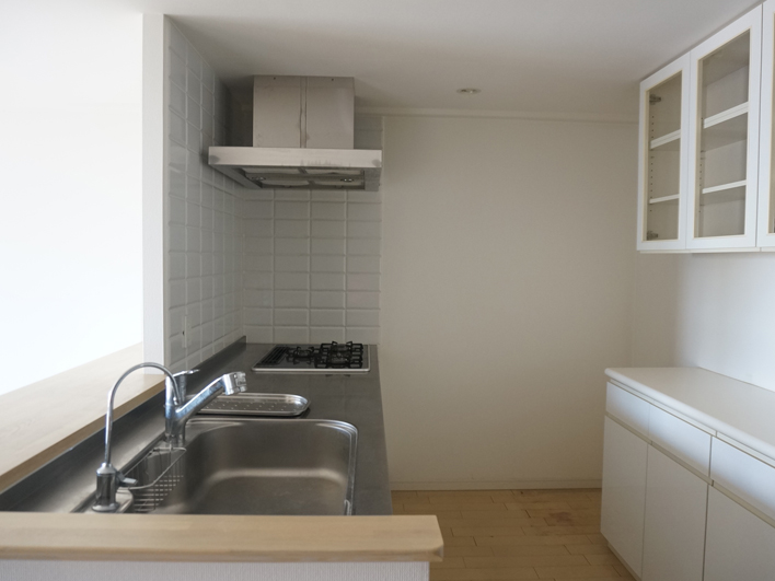 シンプルで使いやすいキッチン