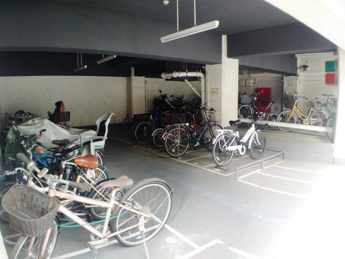 自転車で渋谷までもスイスイ、五分ぐらいで!