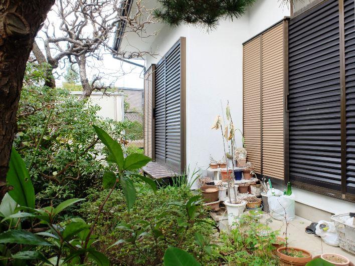 南側のお庭も縁側がついて、ガーデニングのある暮らしができます。