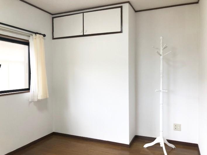 【201号室】202号室と比べて収納が小さい。インテリアを賢く使って快適に暮らしたい。