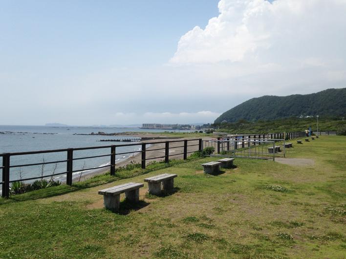 最高に気がいい、葉山公園&一色海岸