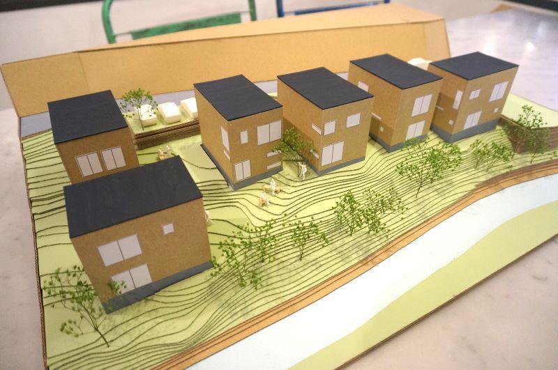 スケルトンハウスヴィレッジ、完成予想模型です。
