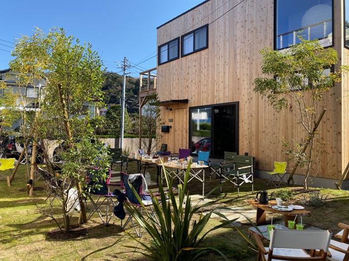 【ヴィレッジ施工事例】こちらは森戸川ヴィレッジ。公園の中に住んでいるような感覚!外構はNAYA設計室(https://www.naya78.com/)さんが担当!
