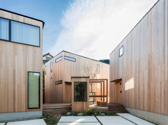 【ヴィレッジ施工事例】こちらは一棟貸し宿泊施設として建設されたザキャンバス葉山。