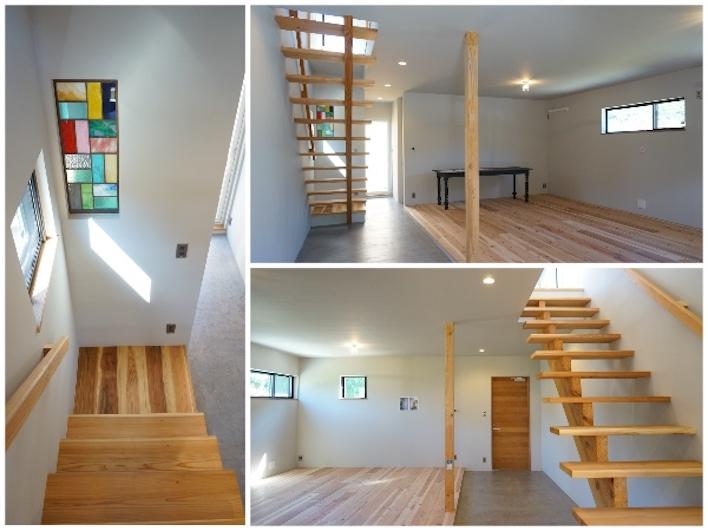 内装の可変性があるため、1階をカフェスペースにもできます。