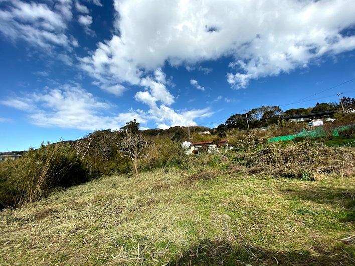 海と空だけじゃない。峯山は緑の景色も超最高です。