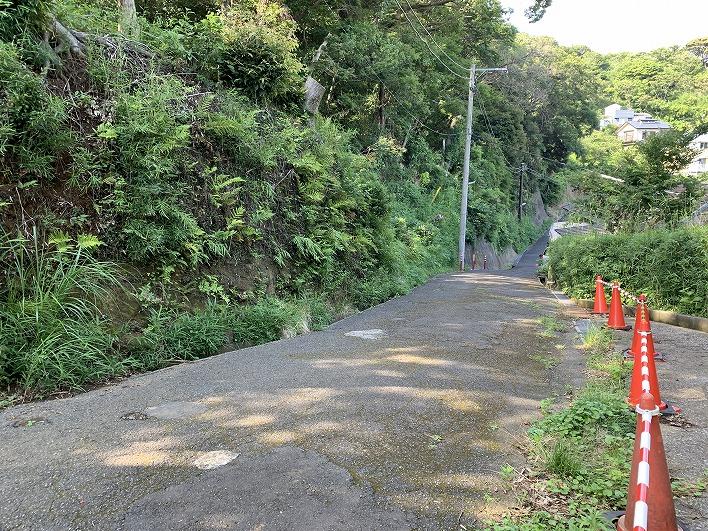 敷地と道路の関係。