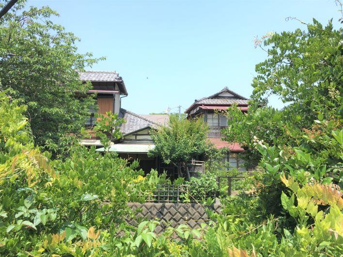 お屋敷の風景がまだまだ残る鎌倉の風情あるエリアです。