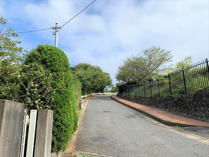 斜め向かいは「笛田公園」