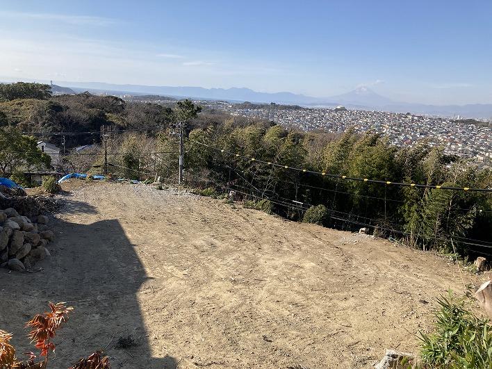 鎌倉山から、海・江の島・富士山!!!