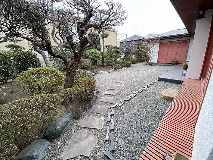 あっぱれな庭園。