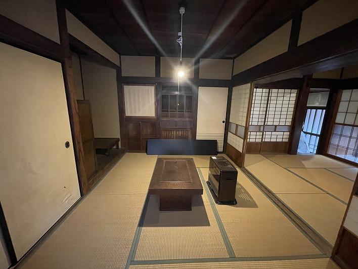 まさに日本家屋。畳が落ち着く。