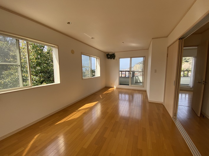 2階の洋室。とっても広い!
