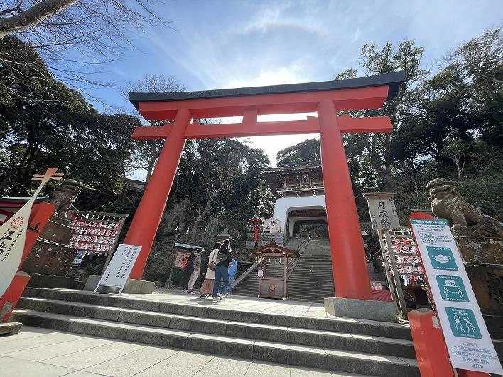 江島神社は、日本三大弁財天の1社に数えられる格式高い神社です。