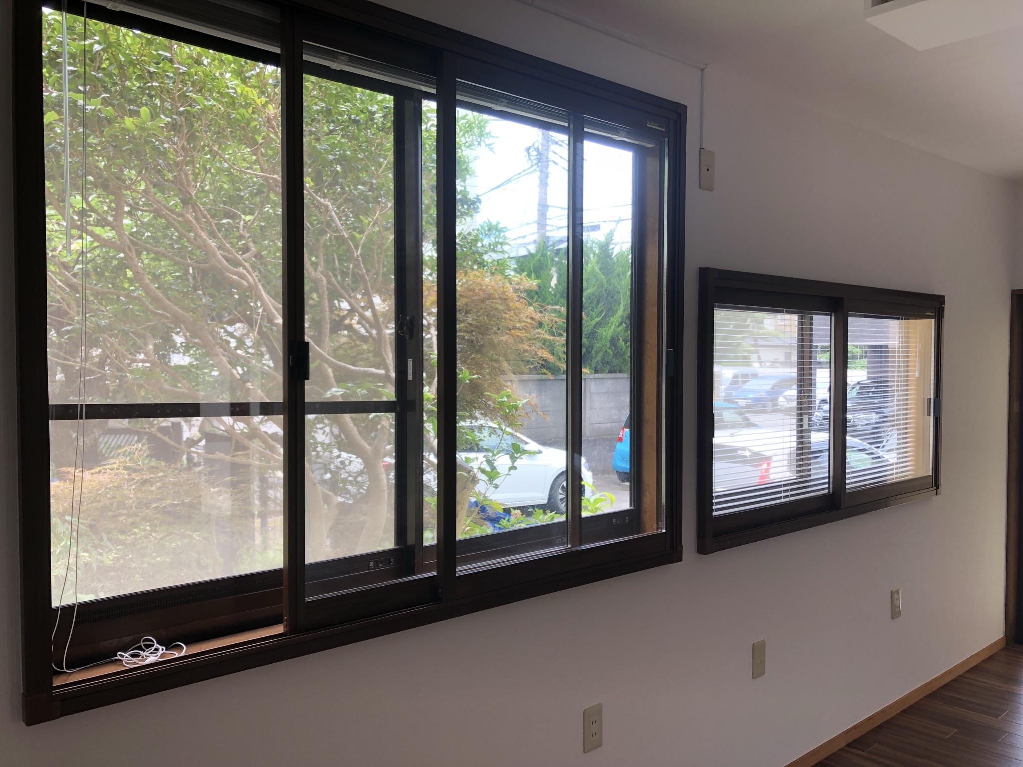 二重窓になってるので、防音もばっちり