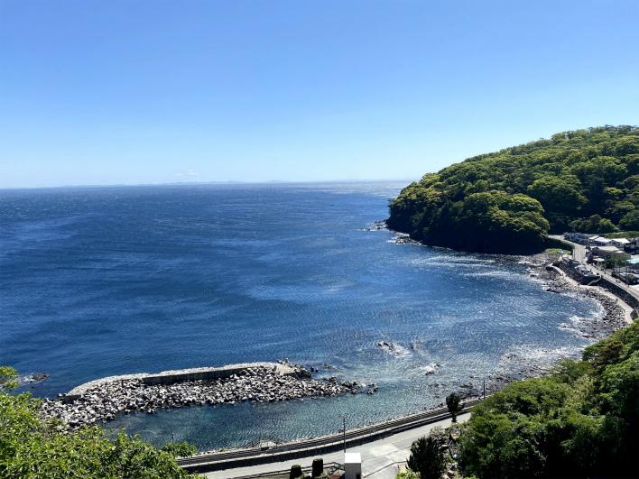 真鶴半島からの眺望。マジでアマルフィでしょ?