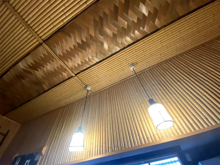 天井は網代組。素敵だなぁ、、、、