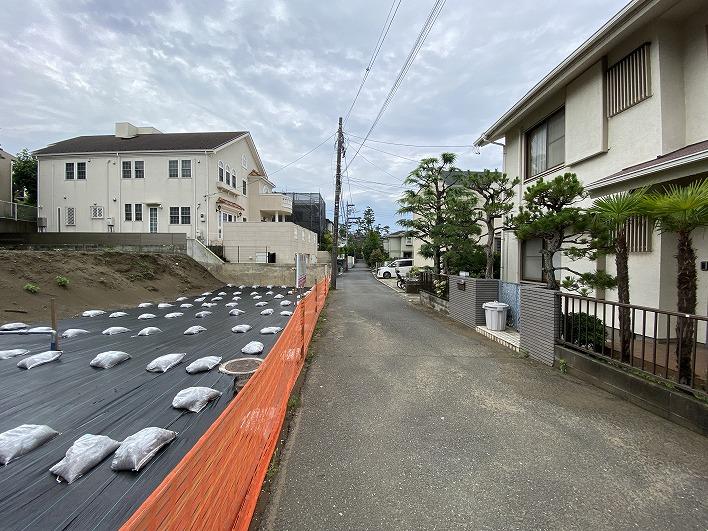 敷地と道路の関係