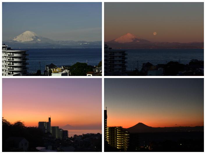 この家に住んだら、携帯が富士山と海の写真でいっぱいになりそう。何度みても飽きない。いつ見てもカッコいい。富士山って偉大だ。