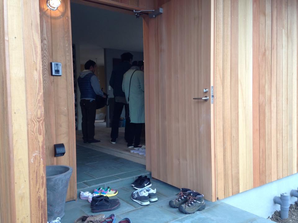 オープンハウス1日目!2