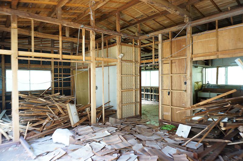 A邸の解体がはじまりました3